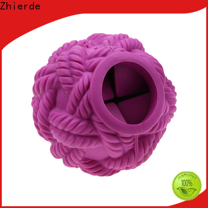 Zhierde cost-effective treat dispensing toys for dogs manufacturer for pet
