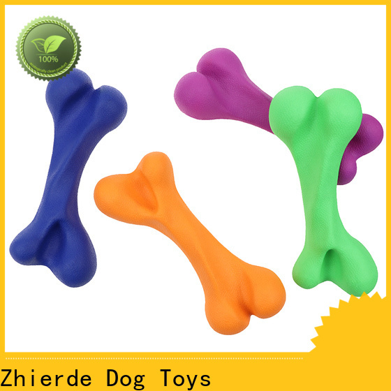 Zhierde dog chew toys supplier for teething