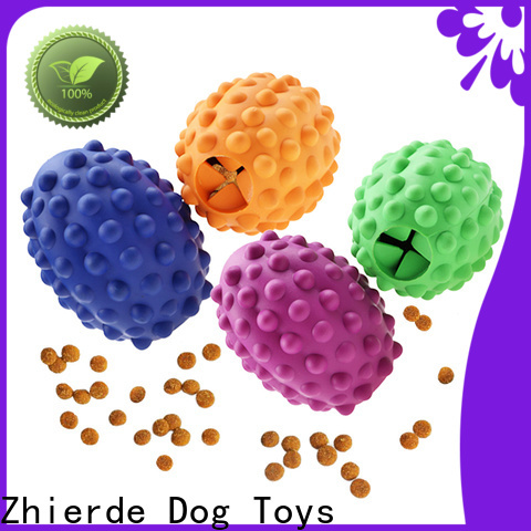Zhierde new food dispensing toy with good price for training