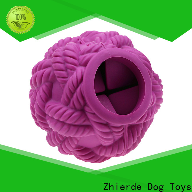 Zhierde best dog food dispensing toy manufacturer for training