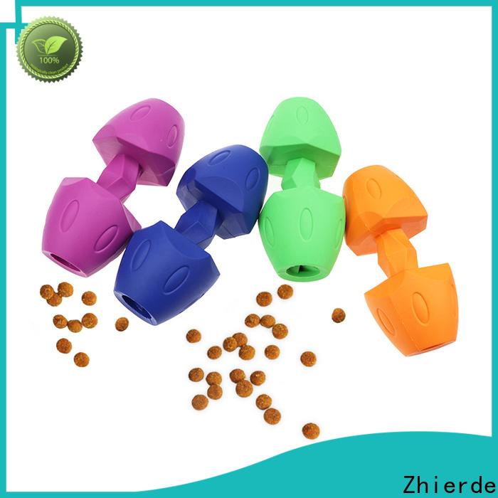 Zhierde dog food dispenser toy manufacturer for training