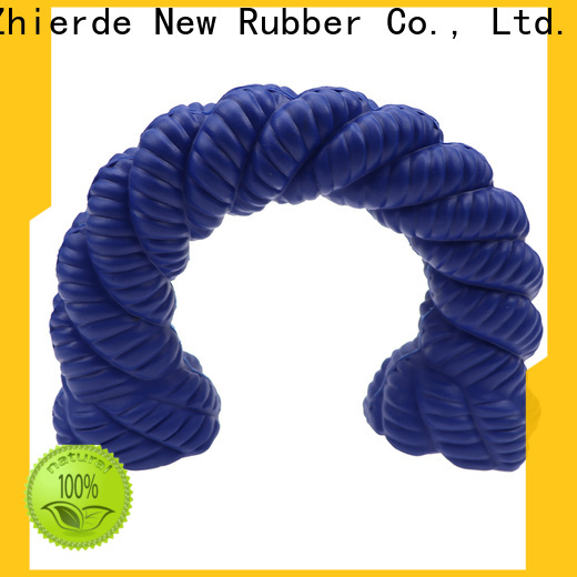 Zhierde durable rubber squeaky dog toys factory for training