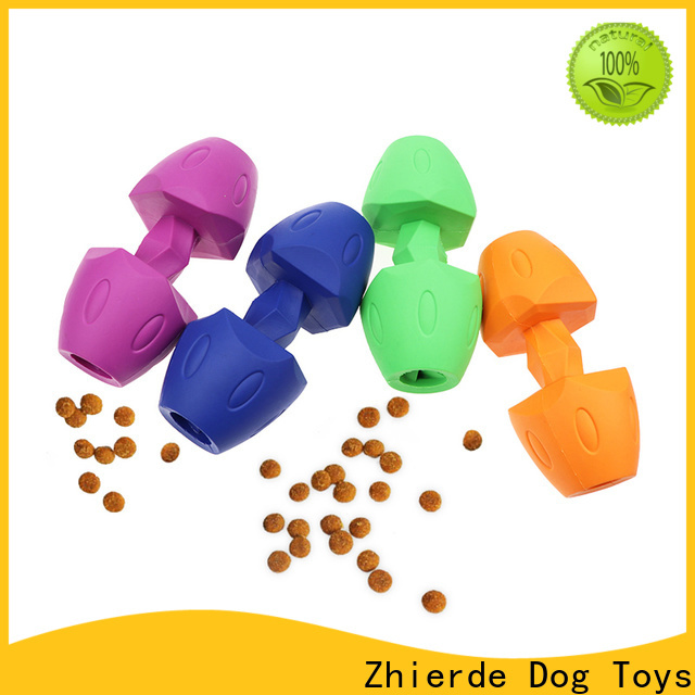 safe dog food dispensing toy factory direct supply for chewing