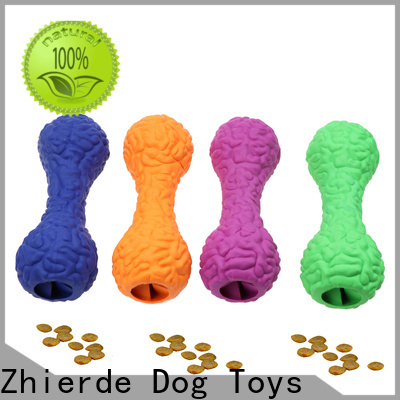 Zhierde high-quality treat dispensing toys supplier for teething