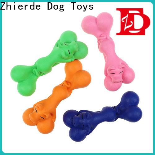 eco-friendly dog bone chew toy factory direct supply for exercise