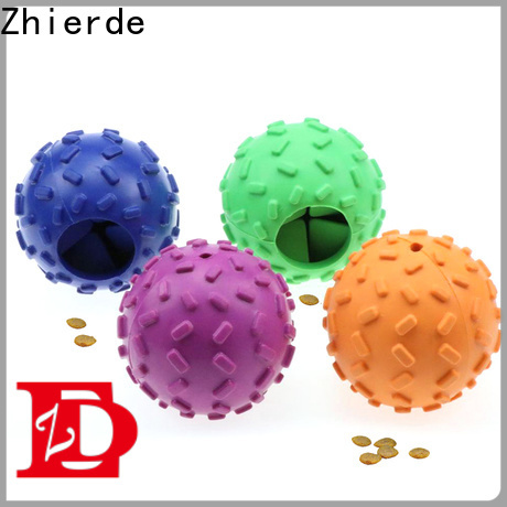 Zhierde food dispenser toy for dogs with good price for pet