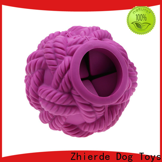 Zhierde treat dispensing dog toys factory direct supply for chewing
