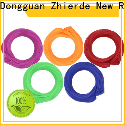 Zhierde attractive rubber squeaky dog toys suppliers for training
