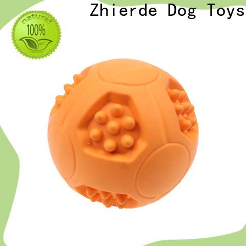 Zhierde popular treat dispensing dog toys wholesale for exercise