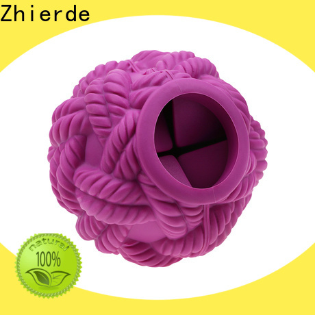 Zhierde new treat dispensing toys supplier for pet