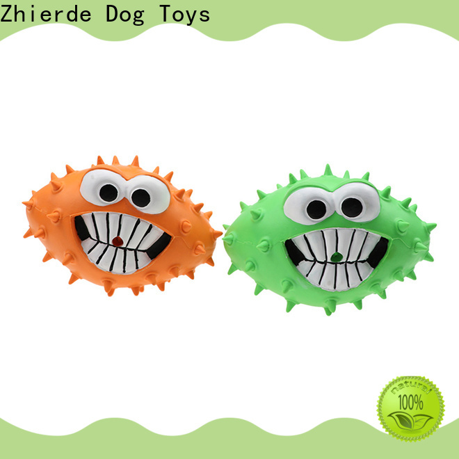 Zhierde high quality tough dog toys company for exercise