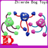 Zhierde approved dog rope chew toy wholesale for teething