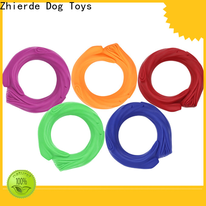 funny rubber squeaky dog toys supply for playing