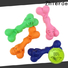 interesting rubber bone dog toy with good price for playing