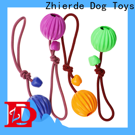 safe rope chew toys for dogs supplier for exercise