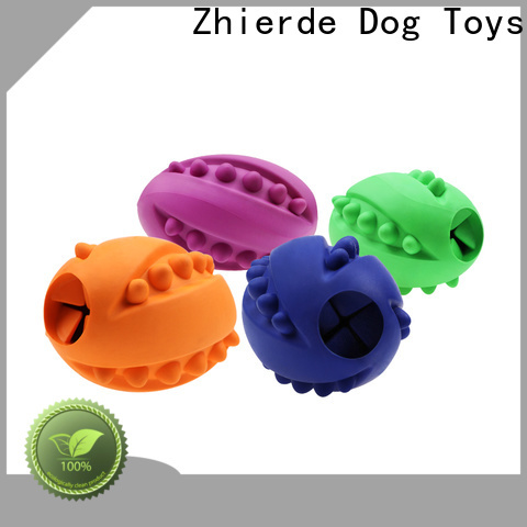 Zhierde durable food dispenser toy for dogs manufacturer for teething