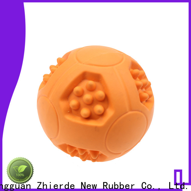 Zhierde popular treat dispensing dog toys factory direct supply for chewing