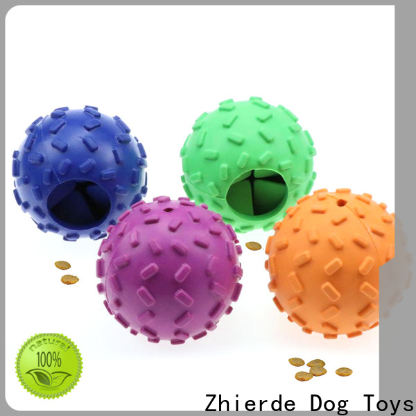 Zhierde food dispensing toy supplier for pet