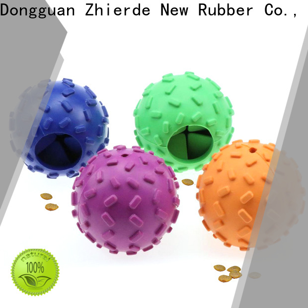 Zhierde top treat dispensing toys wholesale for teething