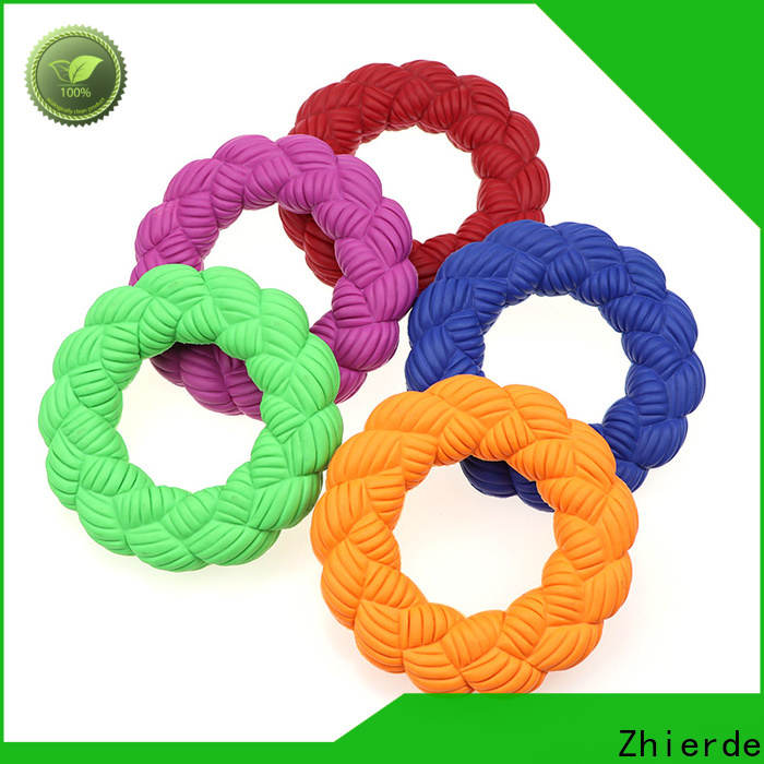 Zhierde durable dog toys squeaky supply for playing
