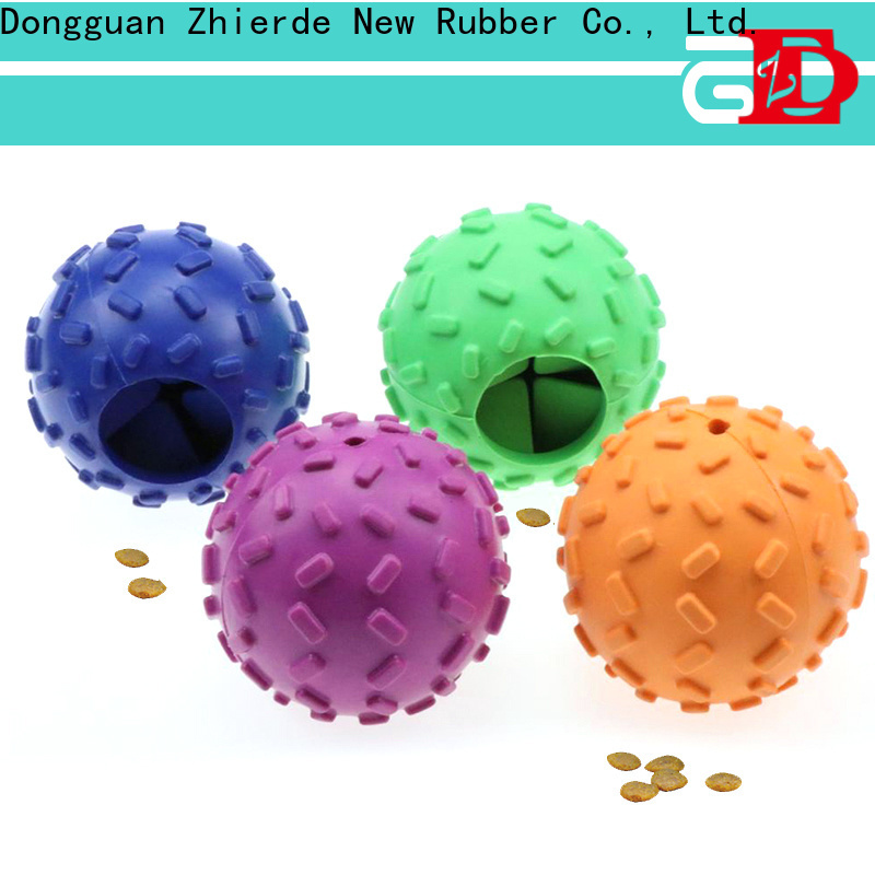 Zhierde treat dispensing toys with good price for playing