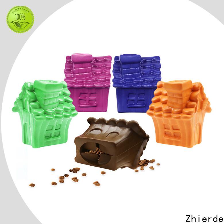 Zhierde safe dog food dispenser toy wholesale for training