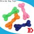 durable rubber bone dog toy with good price for chewing