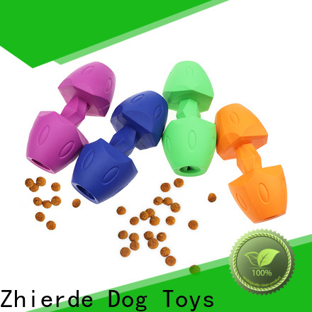 Zhierde latest dog food dispenser toy wholesale for exercise