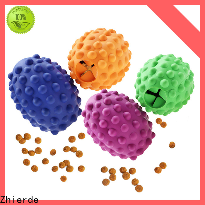 Zhierde top dog puzzle toys manufacturer for chewing
