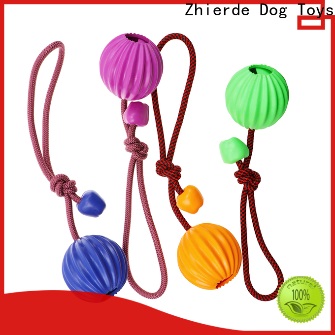 Zhierde enjoyable dog rope chew toy factory direct supply for playing