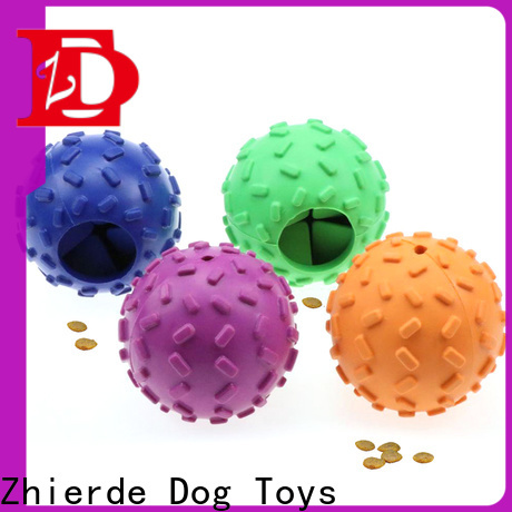 Zhierde latest dog food dispensing toy wholesale for chewing