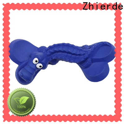 durable rubber dog bone wholesale for training