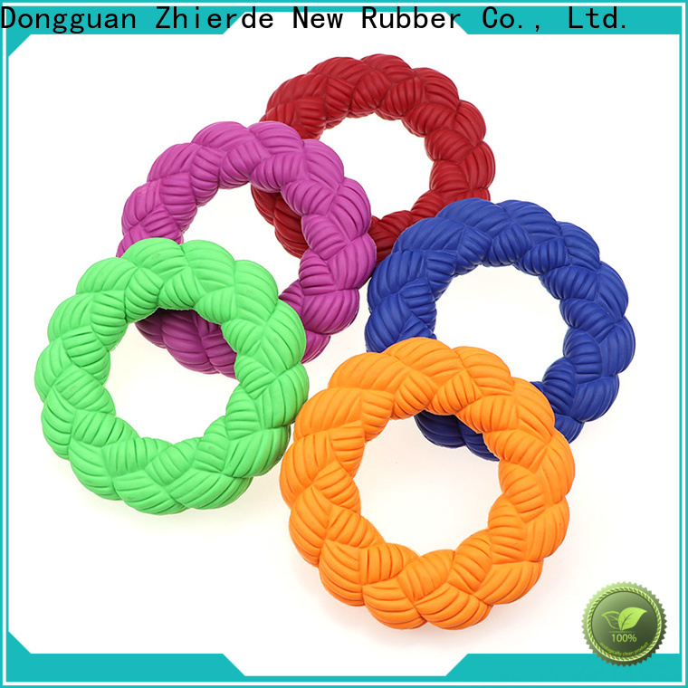 funny rubber squeaky dog toys factory for pet