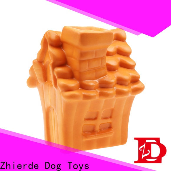 Zhierde treat dispensing dog toys with good price for teething