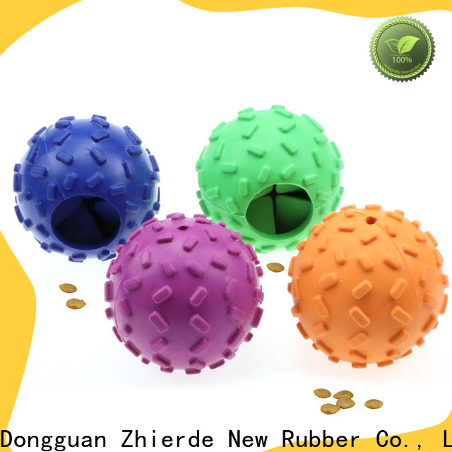 new dog food dispensing toy manufacturer for teething