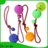 Zhierde dog rope chew toy with good price for playing