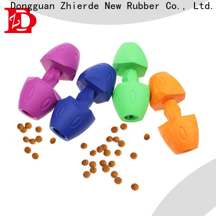 Zhierde funny dog food dispensing toy wholesale for playing