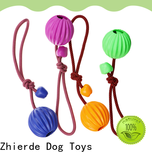 Zhierde dog chew rope toys wholesale for teething