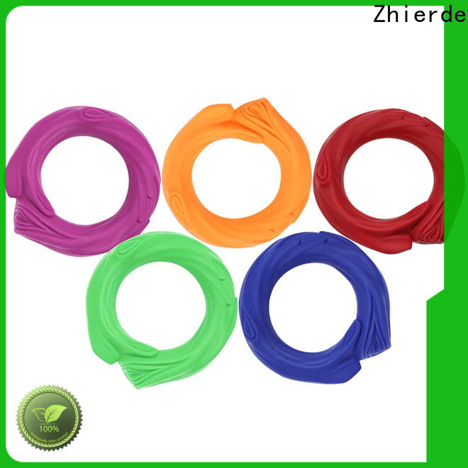 Zhierde latest rubber squeaky dog toys company for teething