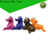 professional indestructible rubber dog toys supply for training