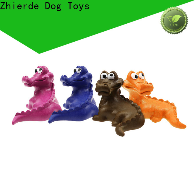 Zhierde indestructible rubber dog toys manufacturers for playing