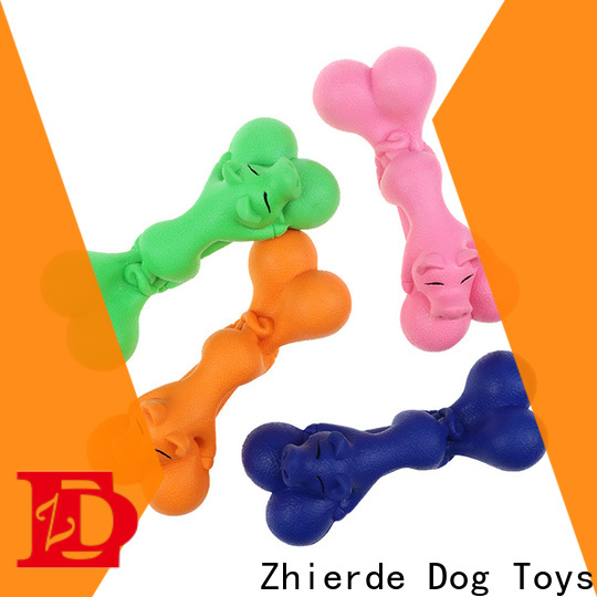 Zhierde eco-friendly bone toys for dogs factory direct supply for training