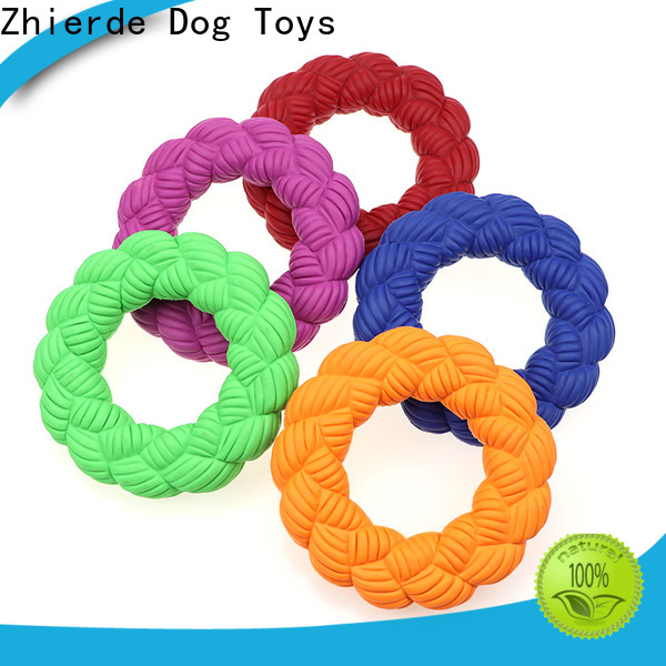 Zhierde dog squeaky toy factory for training