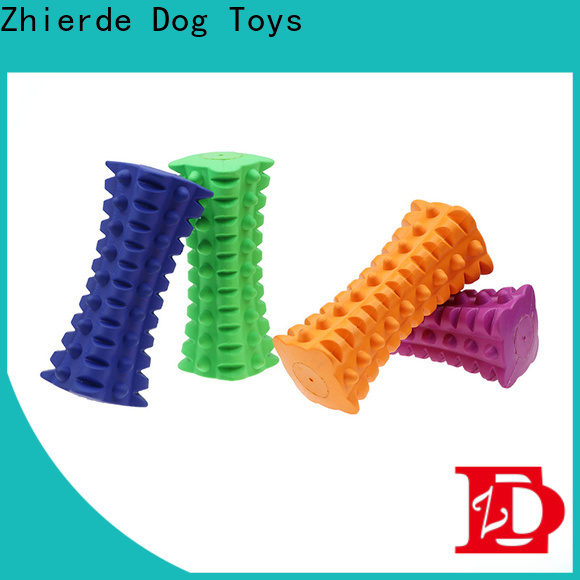 reliable indestructible squeaky dog toys company for teething