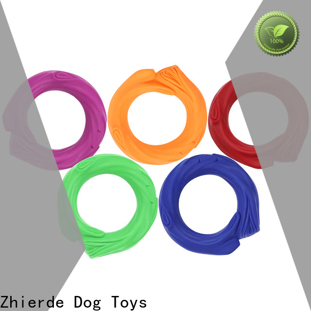 Zhierde attractive squeaky dog toys manufacturers for training