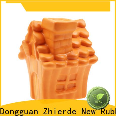 Zhierde funny dog food dispenser toy manufacturer for exercise