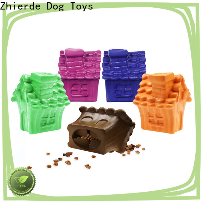 Zhierde new treat dispensing toys for dogs with good price for pet