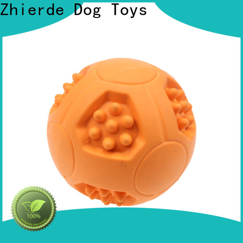 Zhierde high-quality treat dispensing toys for dogs factory direct supply for exercise