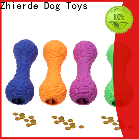 Zhierde high-quality food dispenser toy for dogs manufacturer for exercise