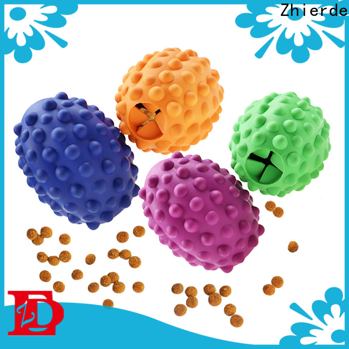 Zhierde dog food toys supplier for exercise